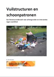 Vuilstructuren en schoonpatronen – Een literatuuronderzoek naar achtergronden en interventies tegen zwerfafval