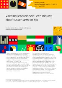 Vaccinatiebereidheid een nieuwe kloof tussen arm en rijk